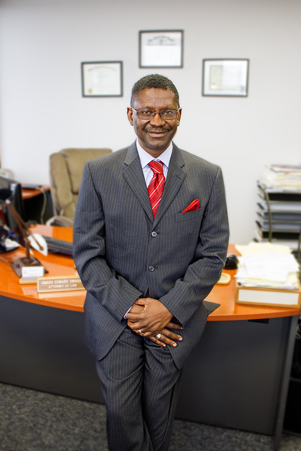 Amadu Edward Swaray, Attorney at Law