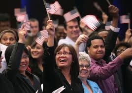 happy us citizens